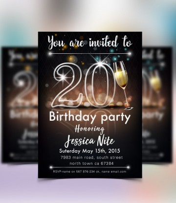 004 Phenomenal Save The Date Flyer Template Sample  Word Event360