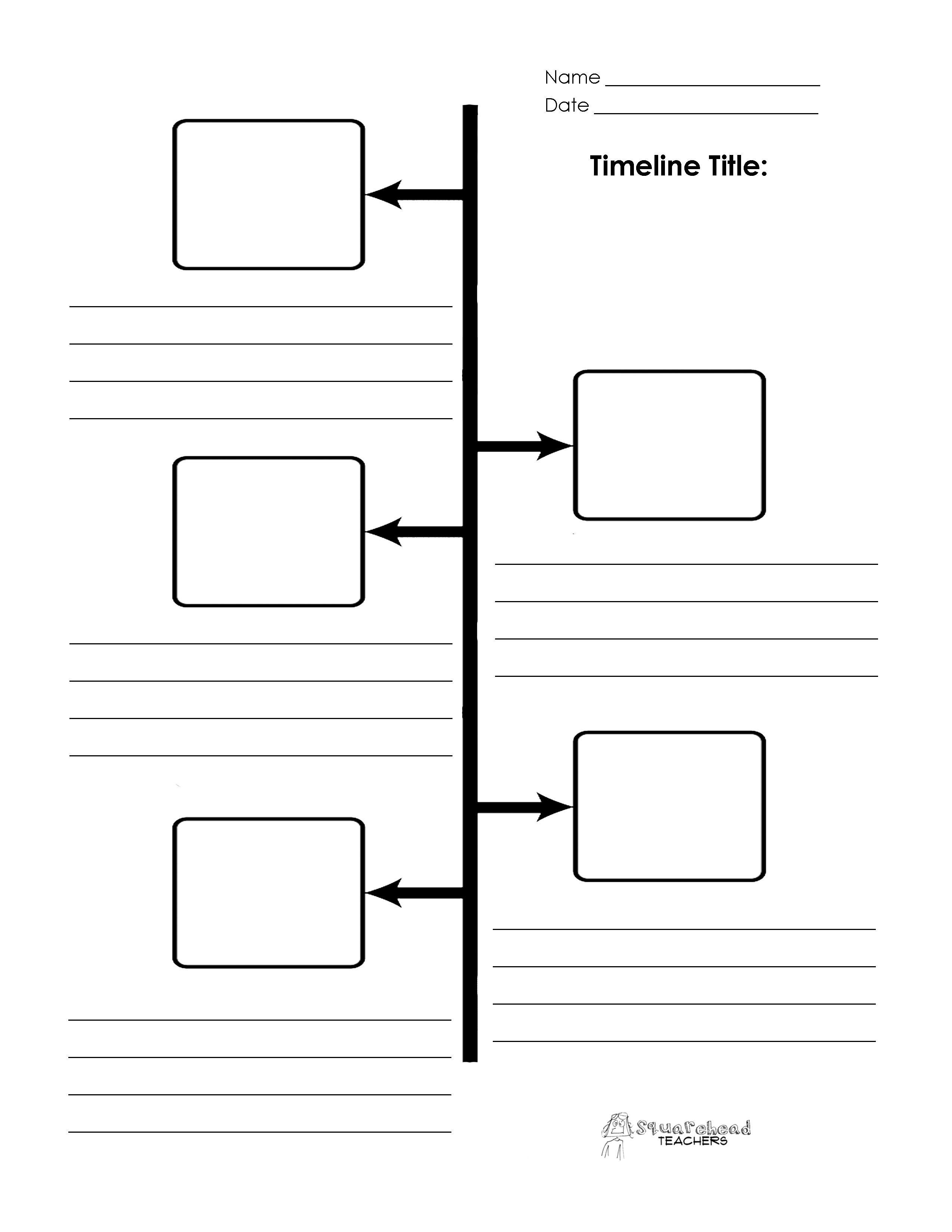 004 Phenomenal Timeline Template For Kid Highest Clarity  KidsFull