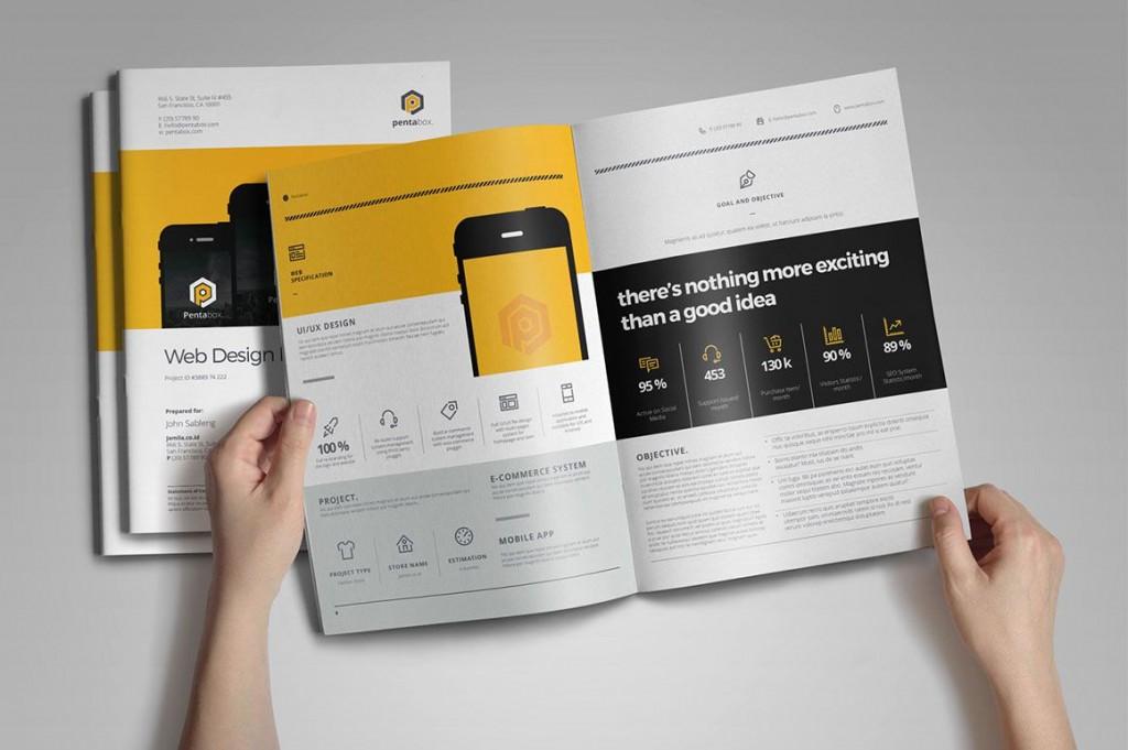 004 Phenomenal Web Design Proposal Template Indesign Idea Large