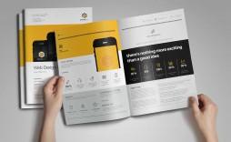004 Phenomenal Web Design Proposal Template Indesign Idea