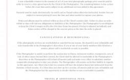 004 Phenomenal Wedding Photographer Contract Template Idea  Free Photography Uk