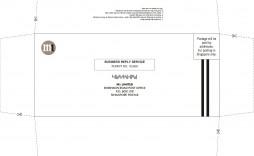 004 Rare 10 Envelope Template Word Photo  Size Microsoft #10 Double Window