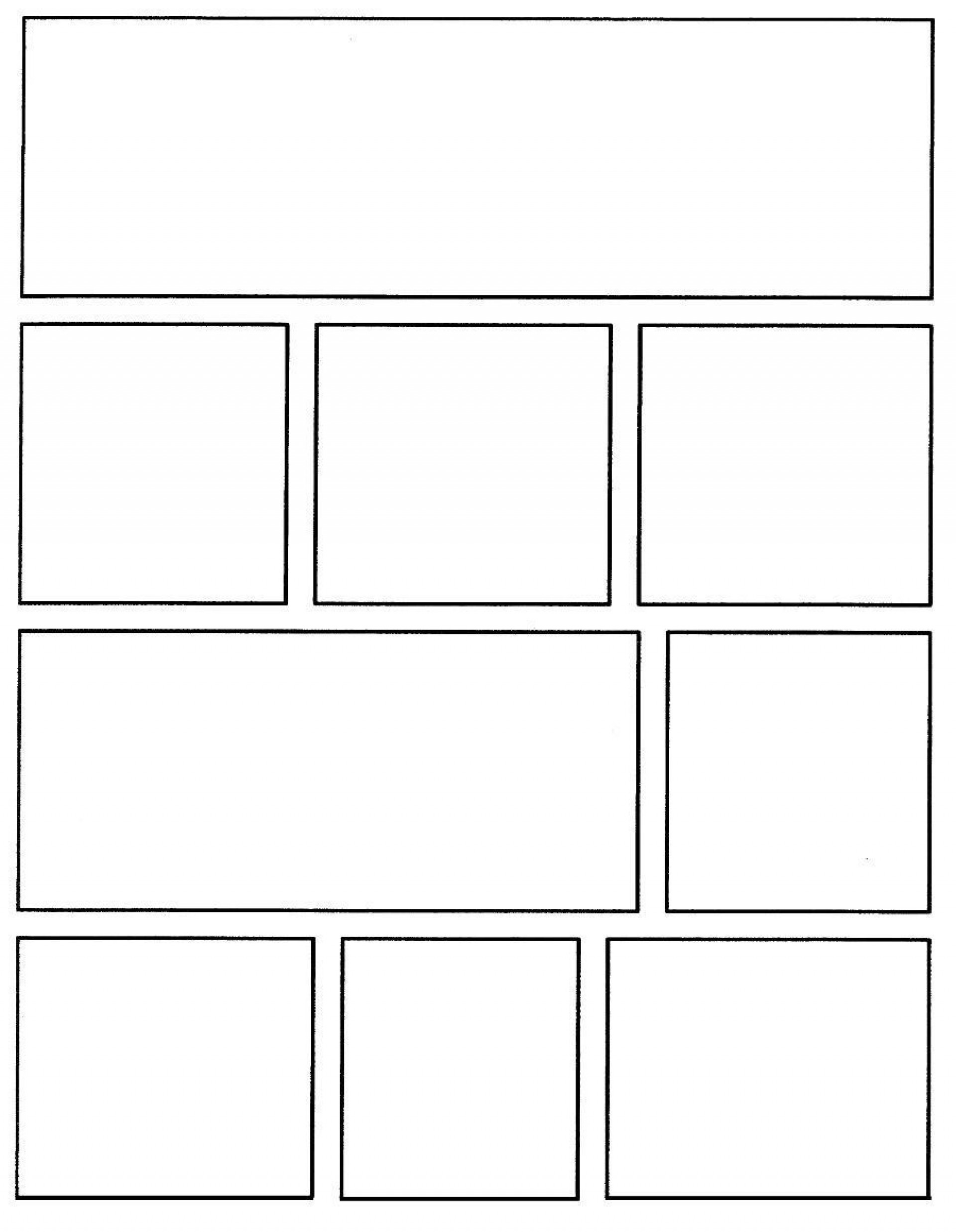 004 Rare Comic Strip Layout For Word High Resolution  Book Script Template Microsoft Doc1920