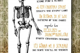 004 Rare Free Halloween Party Invitation Template Design  Printable Birthday For Word Download