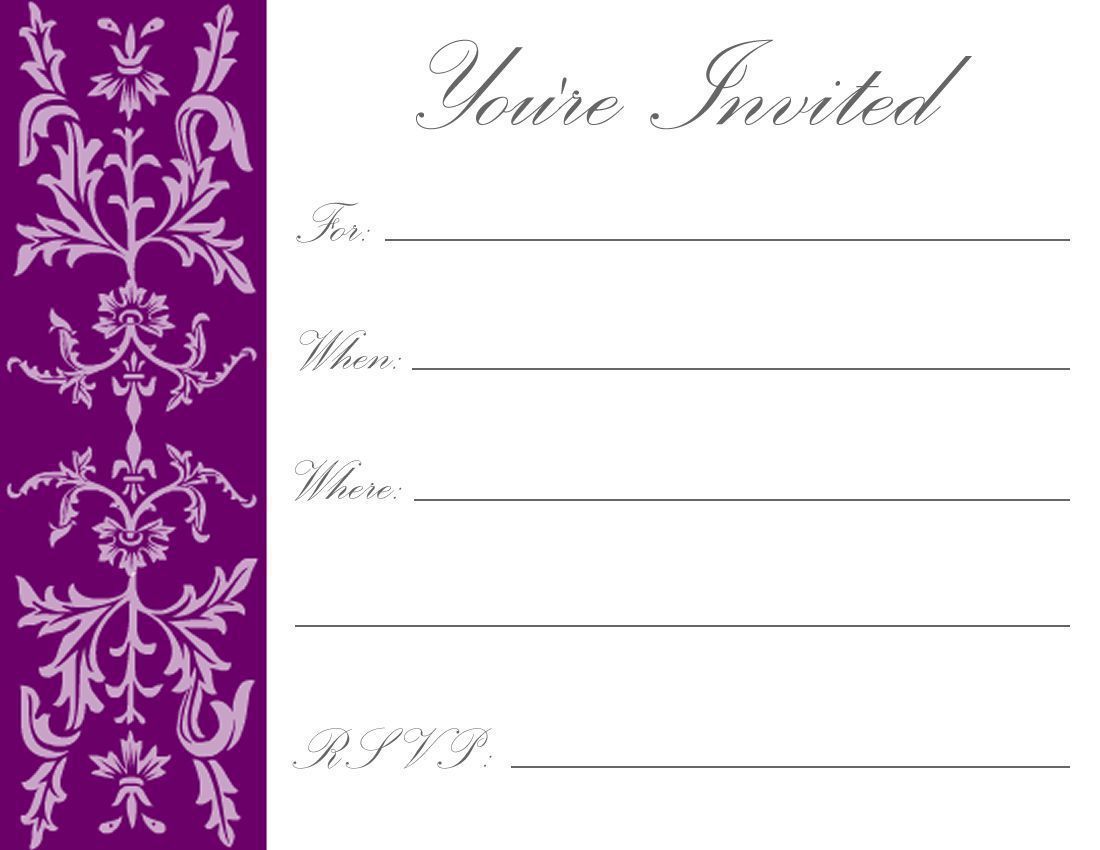 004 Rare Free Online Birthday Invitation Maker Printable Photo  1st CardFull