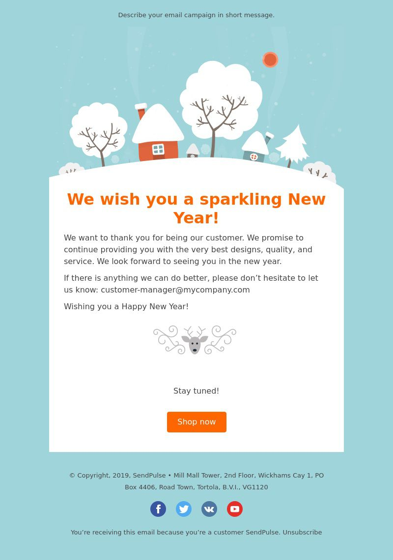 004 Rare Holiday E Mail Template Photo  Templates Mailchimp EmailFull