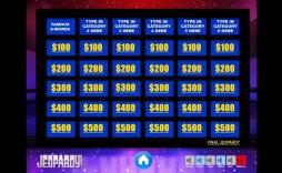 004 Rare Jeopardy Template Google Slide Highest Clarity  Slides Board Blank Best