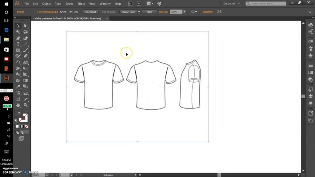 004 Rare T Shirt Design Template Ai Picture  TeeLarge