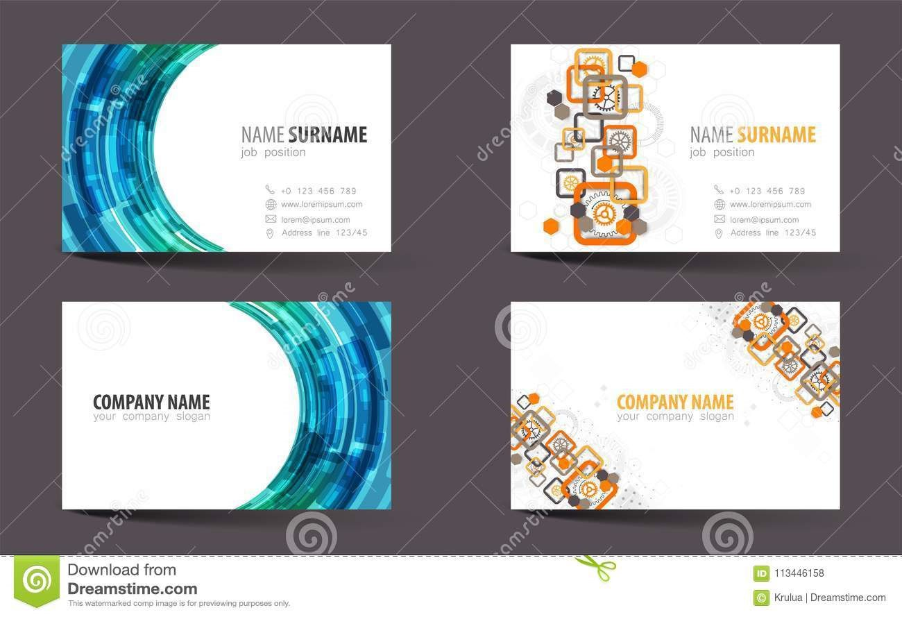 004 Remarkable Double Sided Busines Card Template Sample  Templates Word Free Two MicrosoftFull