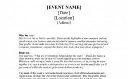004 Remarkable Event Sponsorship Proposal Sample Pdf High Def  For Letter Music Template