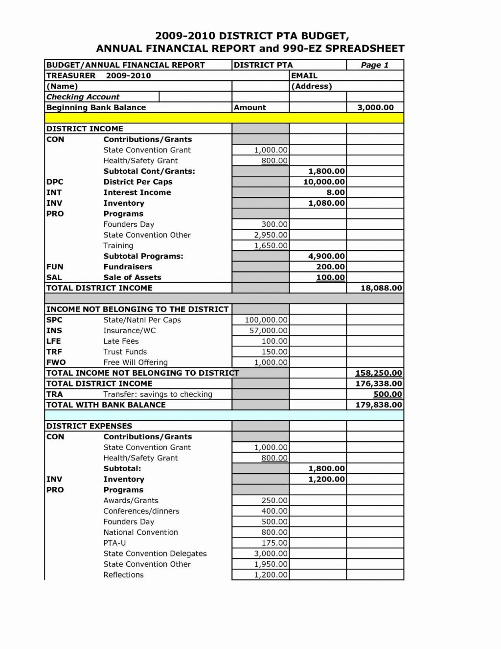 004 Remarkable Financial Statement Template Word High Def  Busines PersonalLarge