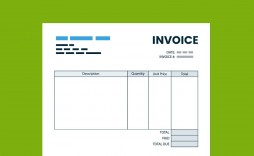 004 Remarkable Microsoft Excel Invoice Template Free Image  Download Service