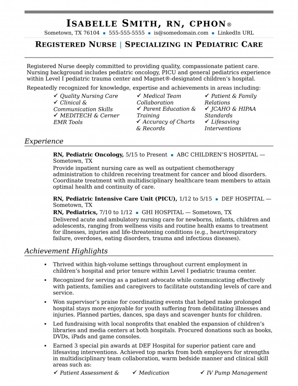 004 Remarkable New Rn Resume Template Picture Large