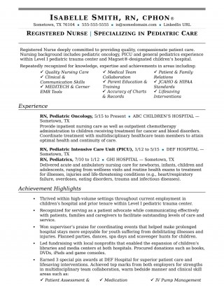 004 Remarkable New Rn Resume Template Picture 320