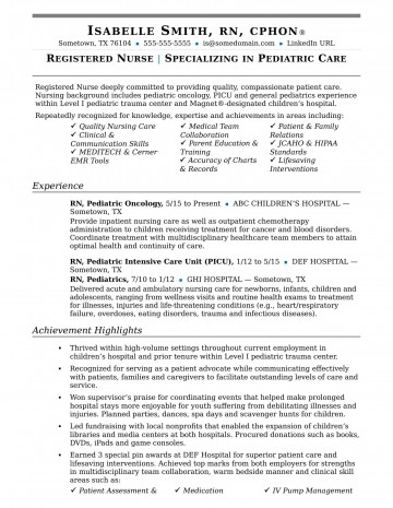 004 Remarkable New Rn Resume Template Picture 360