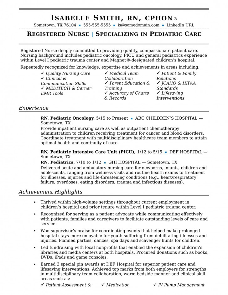 004 Remarkable New Rn Resume Template Picture 728