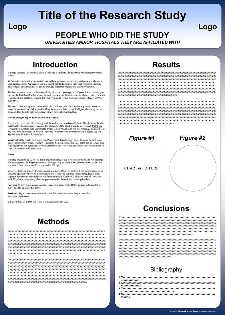 004 Remarkable Poster Presentation Template Free Download Picture  1m X A0Full