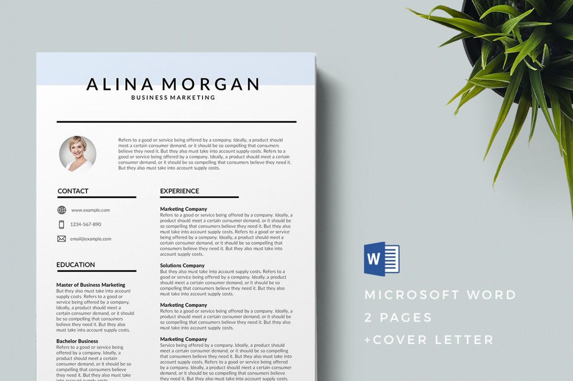 004 Remarkable Professional Resume Template 2019 Free Download Design  Cv1920