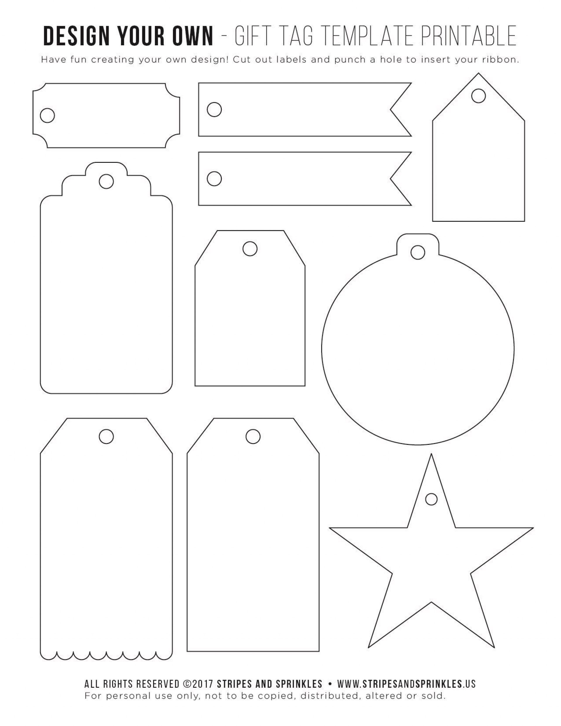 004 Remarkable Template For Gift Tag Highest Clarity  Tags Blank Avery1920