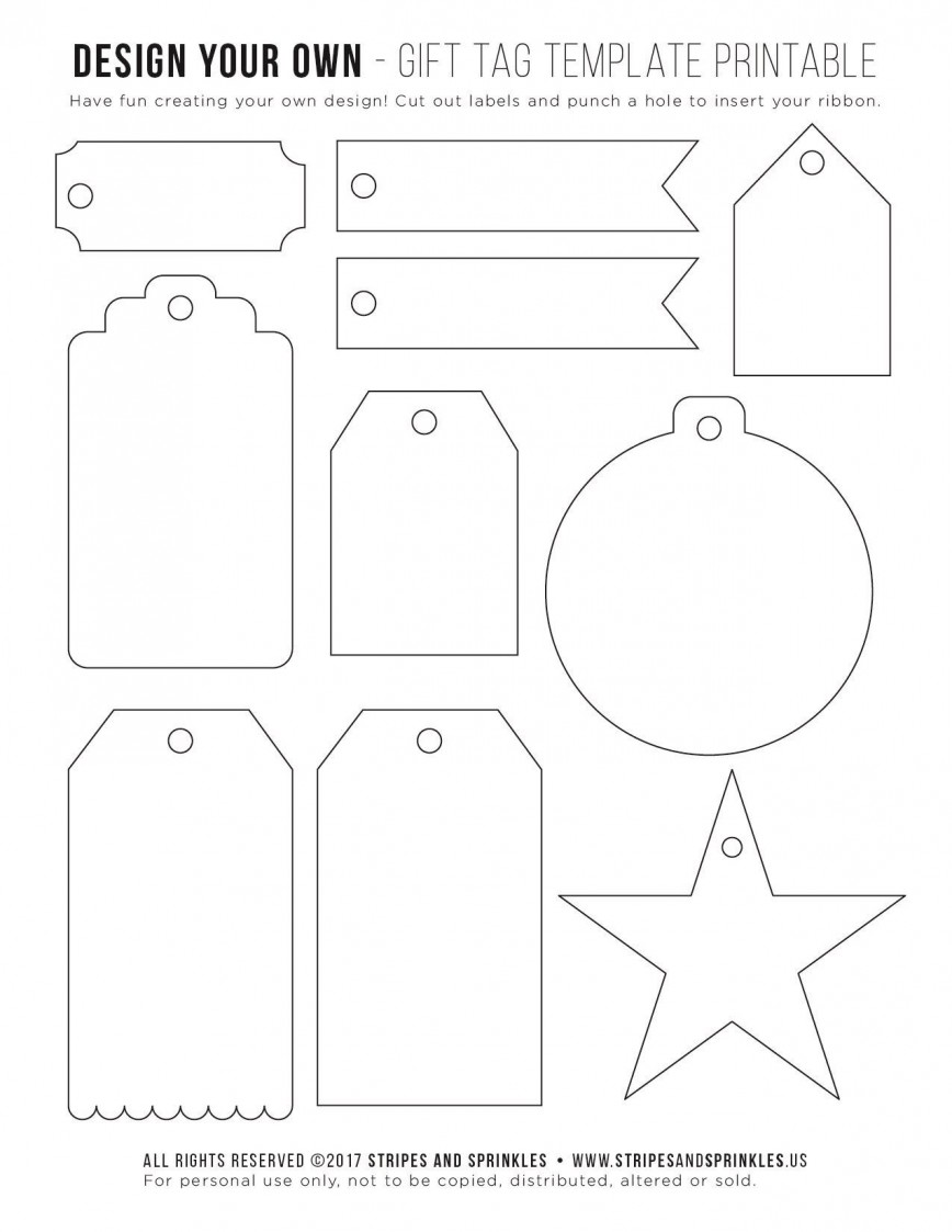 004 Remarkable Template For Gift Tag Highest Clarity  Tags Avery Word Christma Blank