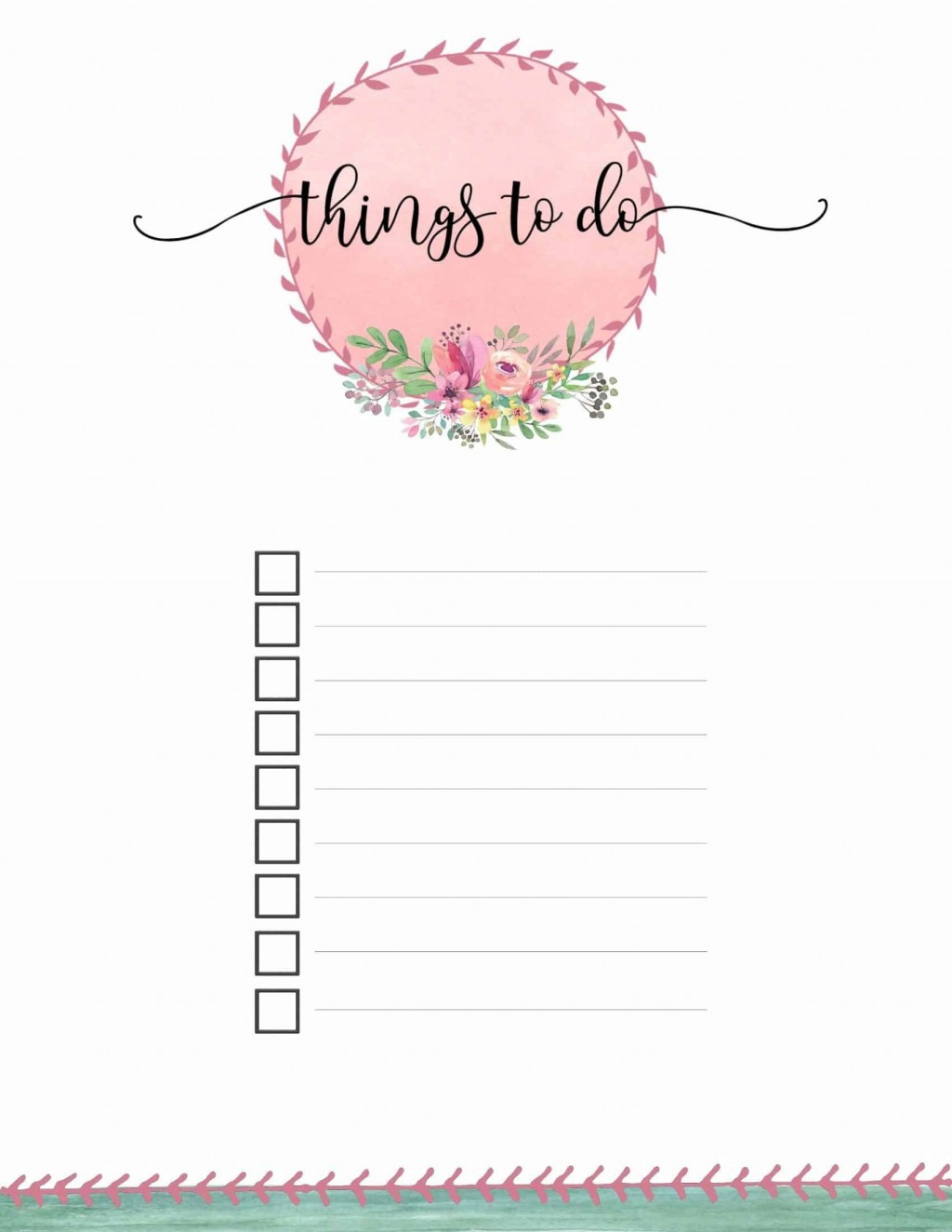 004 Remarkable Thing To Do List Template Example Large