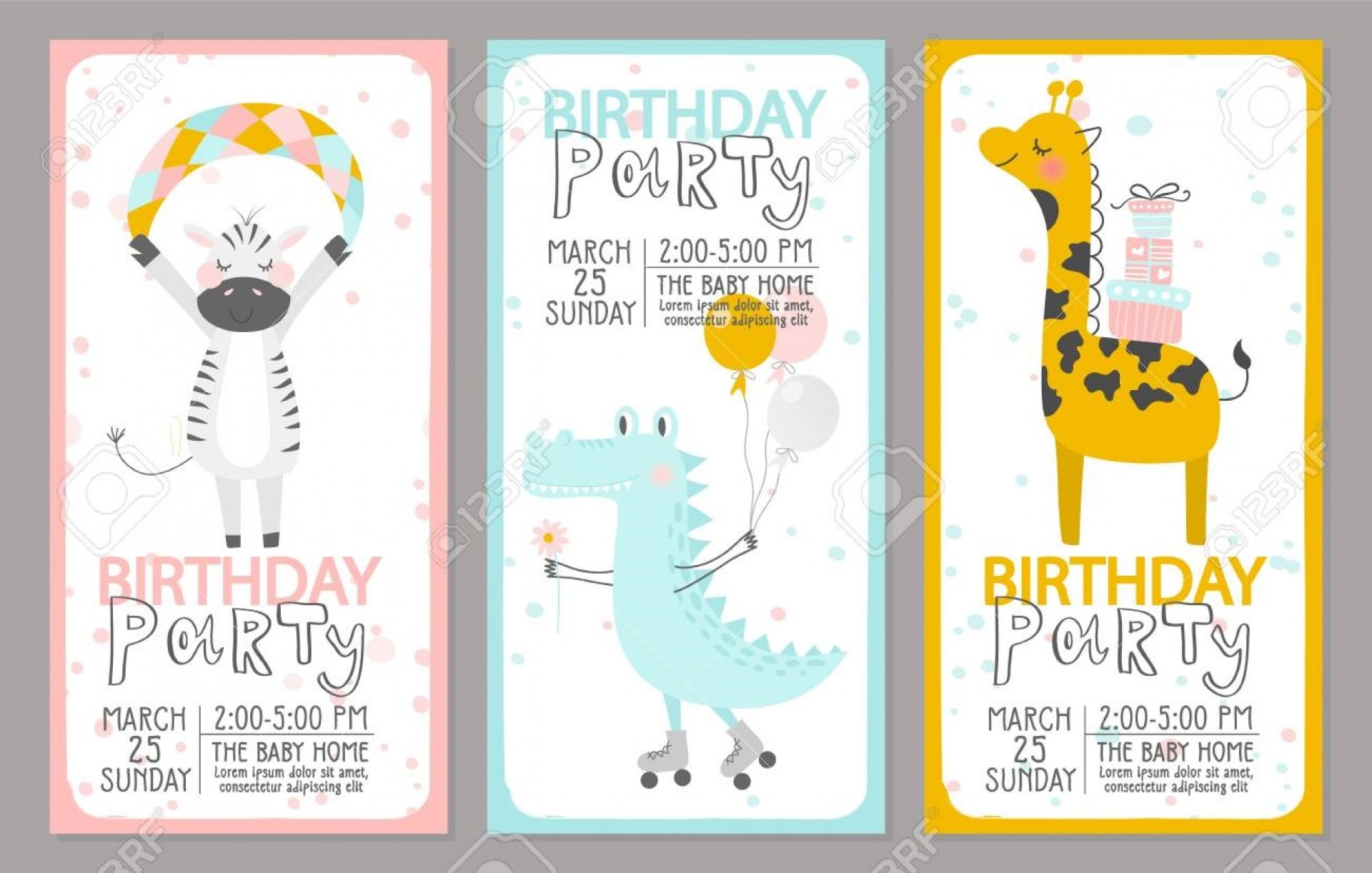 004 Sensational Birthday Party Invitation Template Example  Templates Google Doc 80th Free Download Online1920