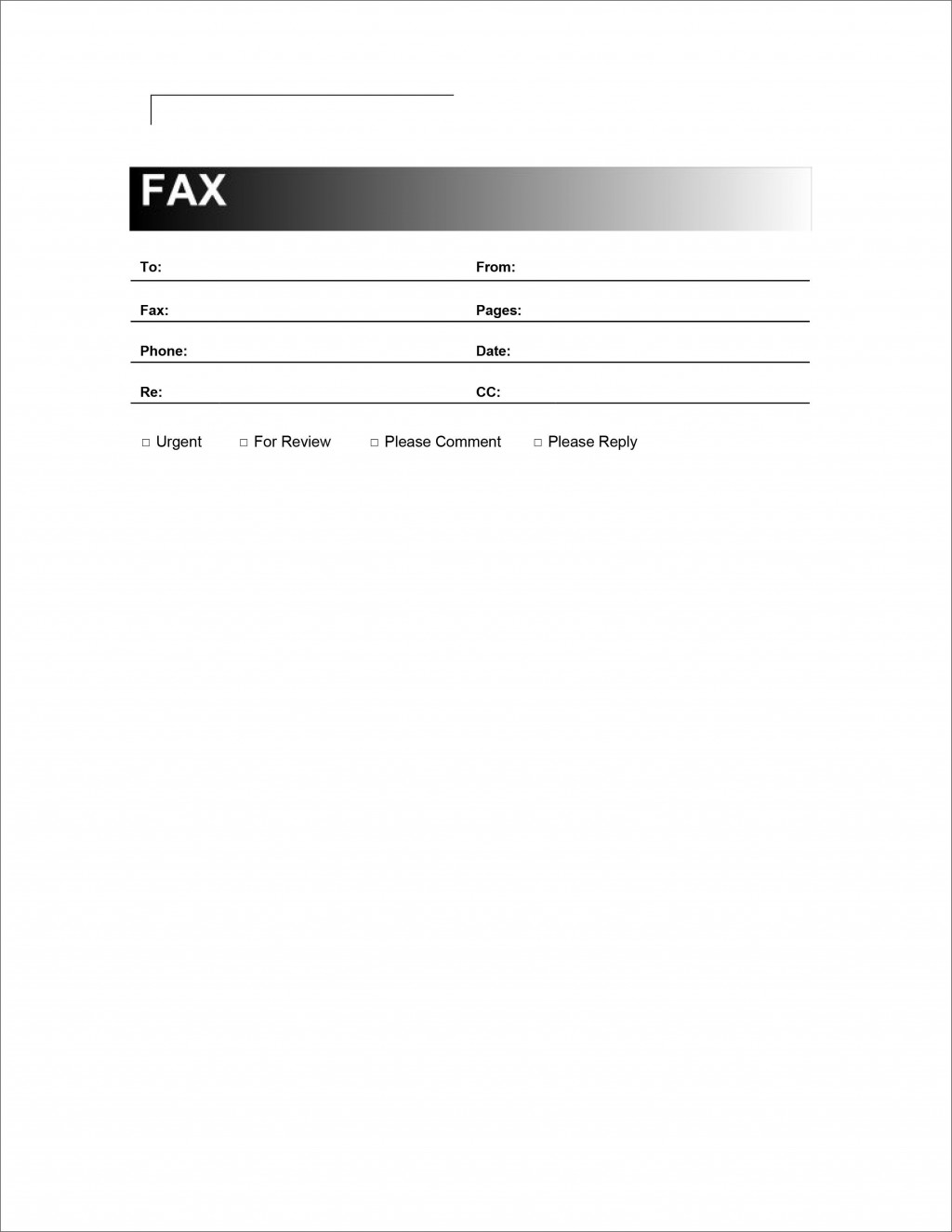 004 Sensational Fax Template Microsoft Word Picture  Cover Sheet 2010 Letter BusinesLarge