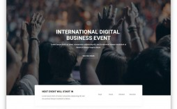 004 Sensational Free Event Planner Website Template Picture  Templates Planning Download Bootstrap