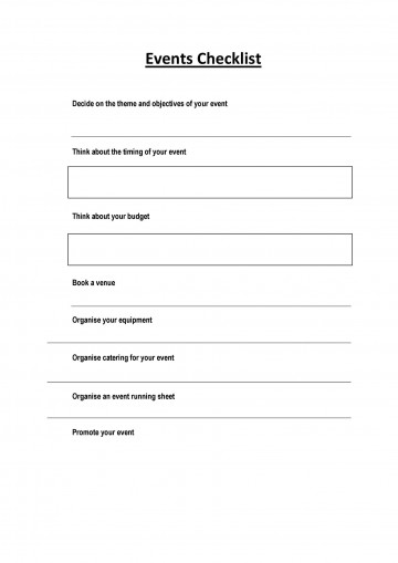 004 Sensational Free Event Planning Template Checklist Example  Planner Party360