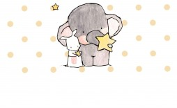 004 Sensational Free Girl Elephant Baby Shower Printable Image  Printables