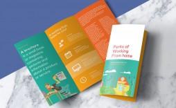004 Sensational Free Tri Fold Brochure Template High Def  Photoshop Illustrator Microsoft Word 2010