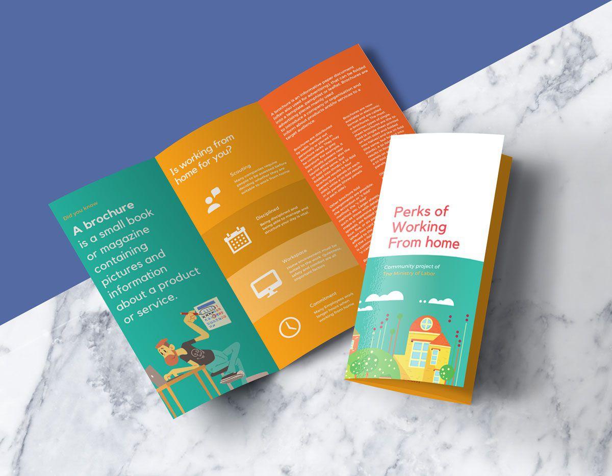 004 Sensational Free Tri Fold Brochure Template High Def  Photoshop Illustrator Microsoft Word 2010Full