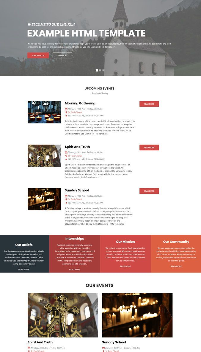 004 Sensational Free Web Template Download Html And Cs Example  Css Website Responsive Jquery For It CompanyFull