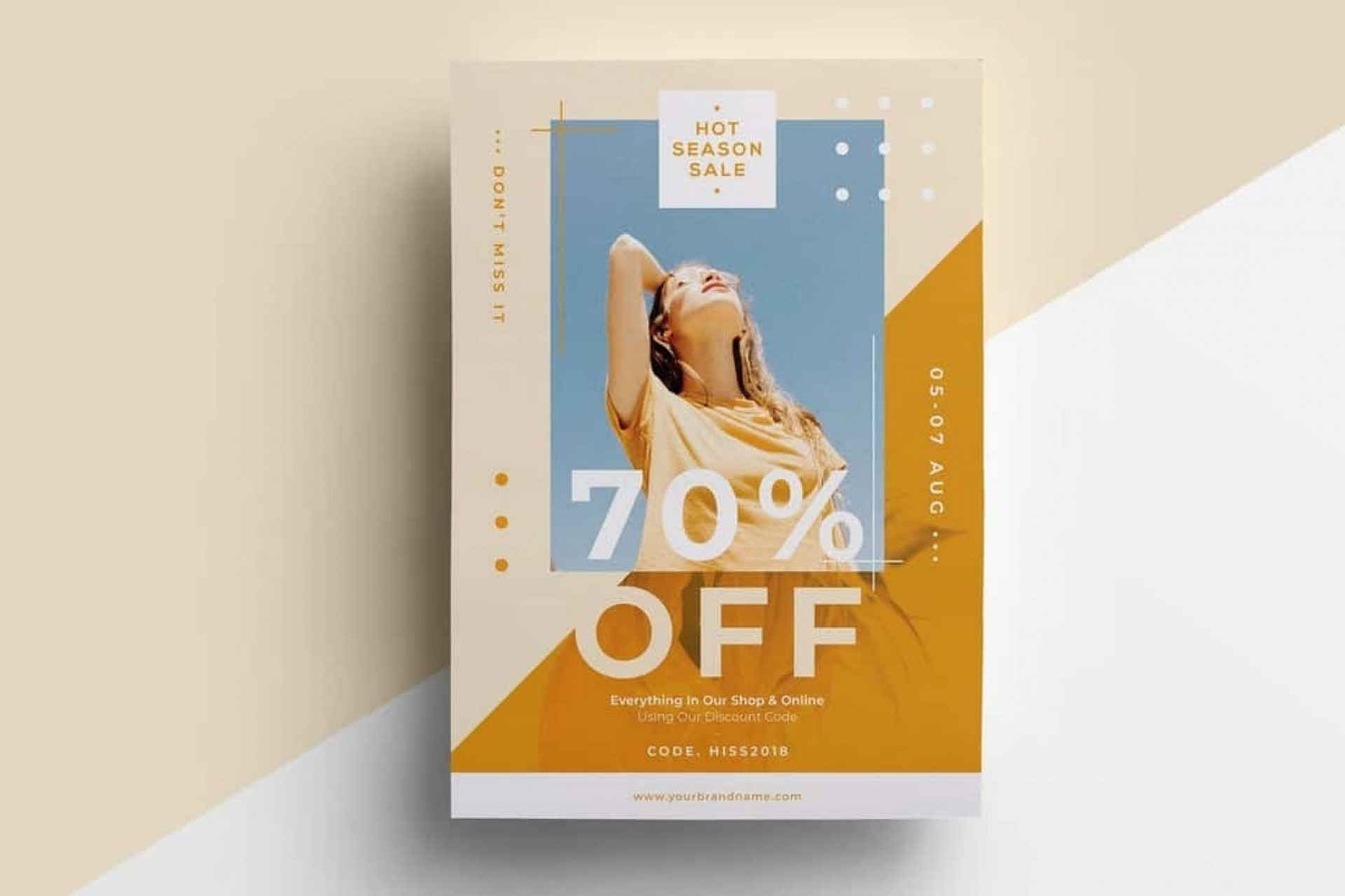 004 Sensational In Design Flyer Template Photo  Indesign Free Adobe Download1920