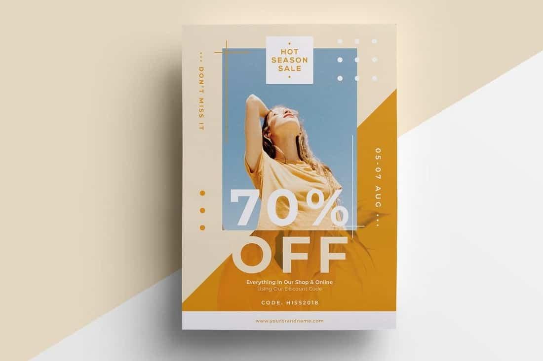 004 Sensational In Design Flyer Template Photo  Indesign Free Adobe DownloadFull