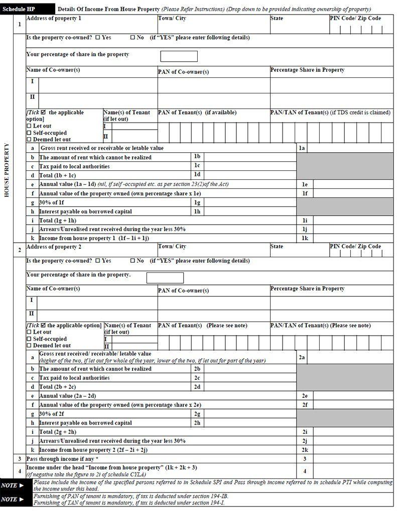 Income Tax Return Verification Form Filled Sample ...