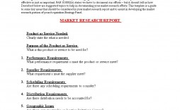 004 Sensational Market Research Report Template Inspiration  Excel Sample Free