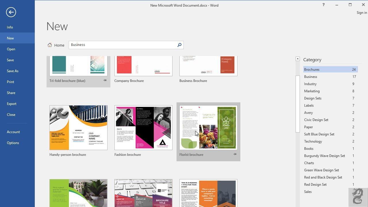 004 Sensational M Word Brochure Format Highest Clarity  Template Download MicrosoftFull