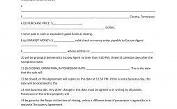 004 Sensational Purchase Agreement Template For Home Photo  Mobile