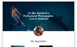 004 Sensational Website Template For Photographer High Def  Photographers Free Responsive Photography Php Best