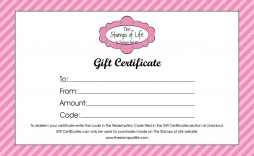 004 Shocking Blank Gift Certificate Template High Def  Free Printable Downloadable