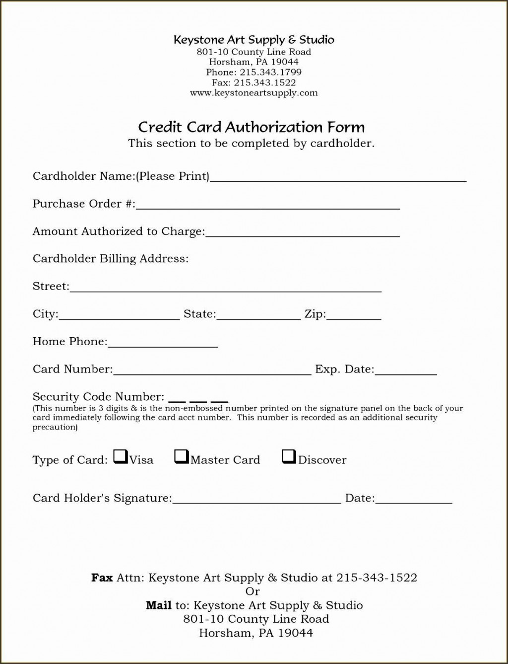 004 Shocking Credit Card Form Template Excel High Def  Authorization PaymentLarge