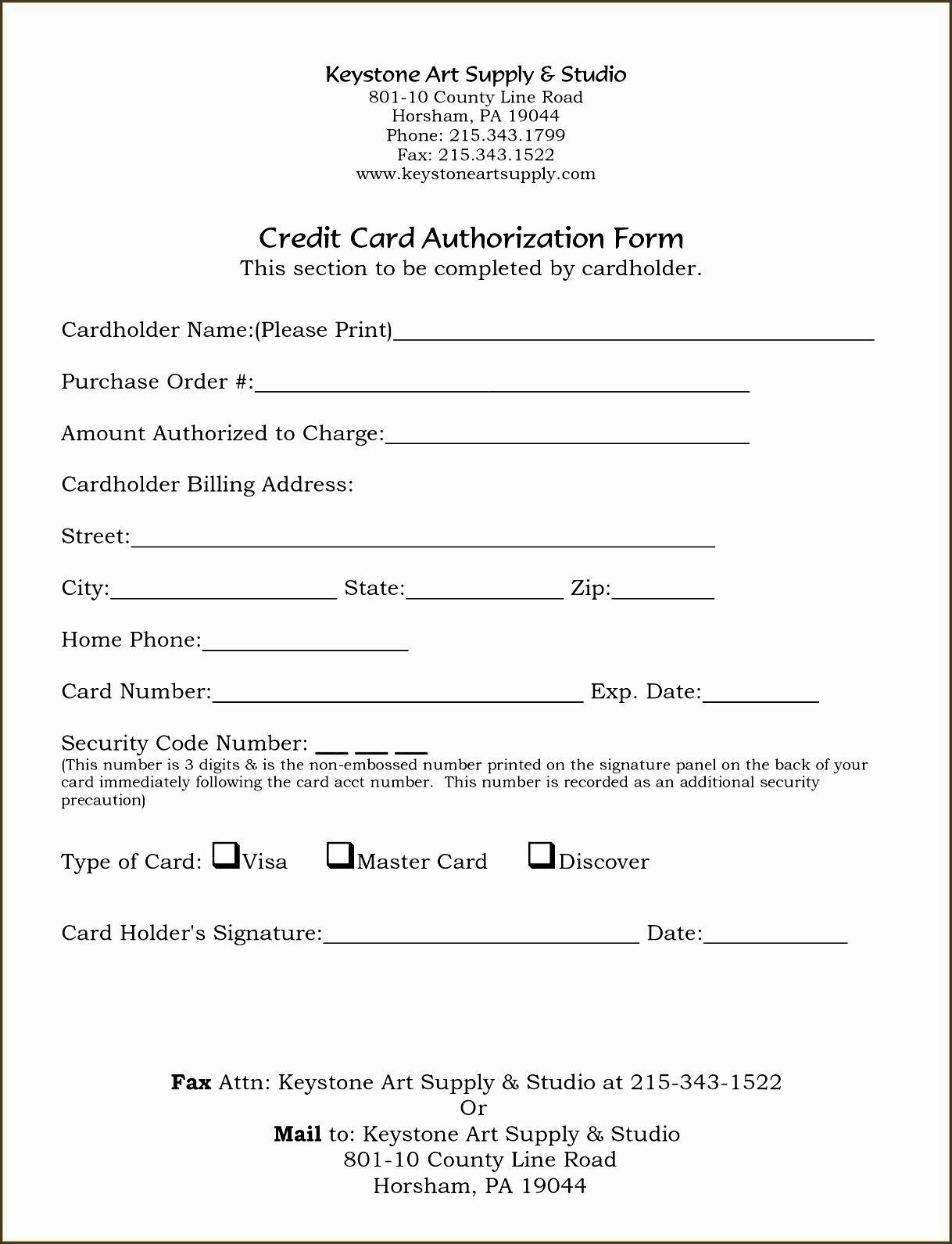 004 Shocking Credit Card Form Template Excel High Def  Authorization PaymentFull