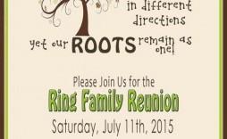 004 Shocking Free Printable Family Reunion Invitation Template Idea  Templates Flyer