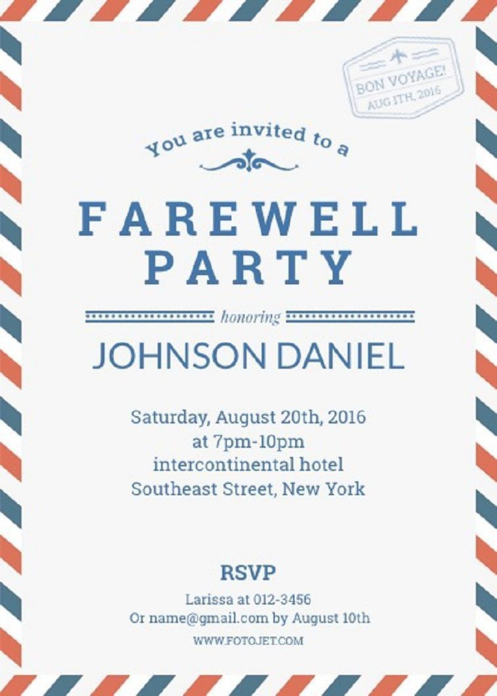 004 Shocking Going Away Party Invitation Template High Definition  Free Printable1920