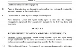 004 Shocking Property Management Contract Form Inspiration  Sample Agreement Template Free Uk