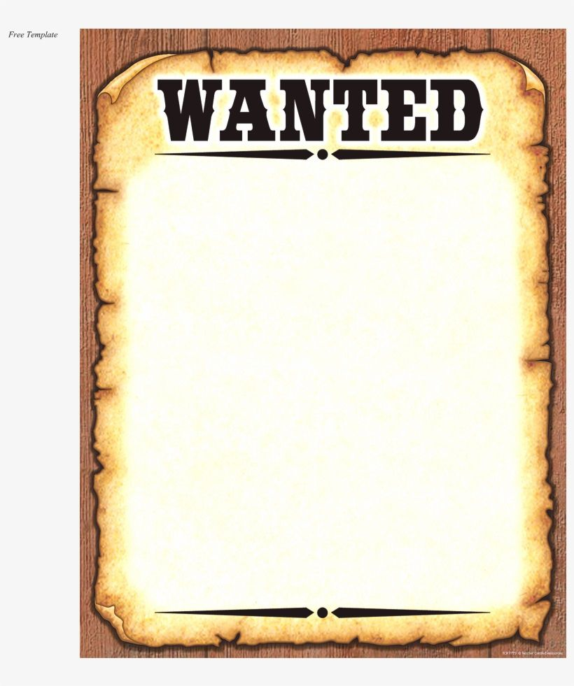 004 Shocking Wanted Poster Template Free Printable Idea  MostFull