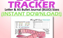 004 Shocking Weight Los Tracker Template Example  Weekly In Thi Body I Live Instagram 2019 2020