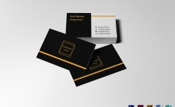 004 Simple Blank Busines Card Template Photoshop Inspiration  Psd Free Download