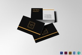 004 Simple Blank Busines Card Template Photoshop Inspiration  Free Download Psd
